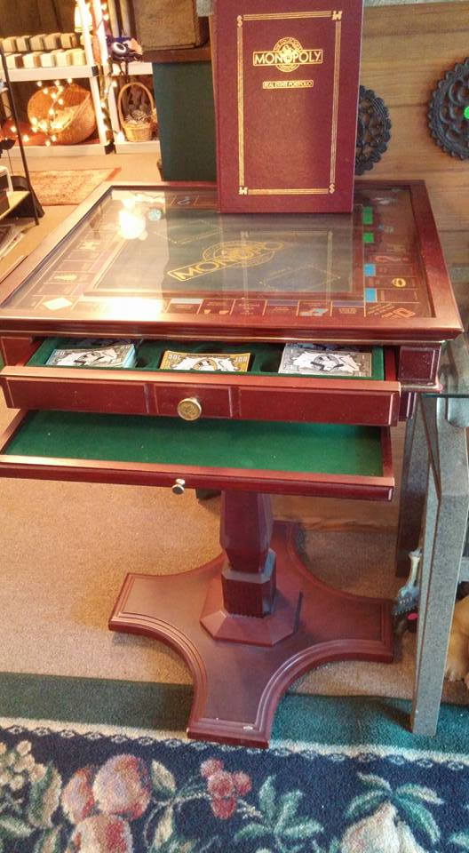 1991 Franklin Mint Monopoly Game Table Scentimental Resale